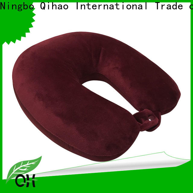Qihao High-quality u shaped travel pillow supply for businessmen