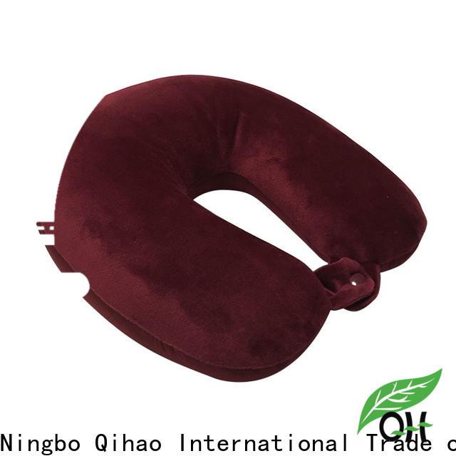 Qihao Best best memory foam travel pillow manufacturers for a rest