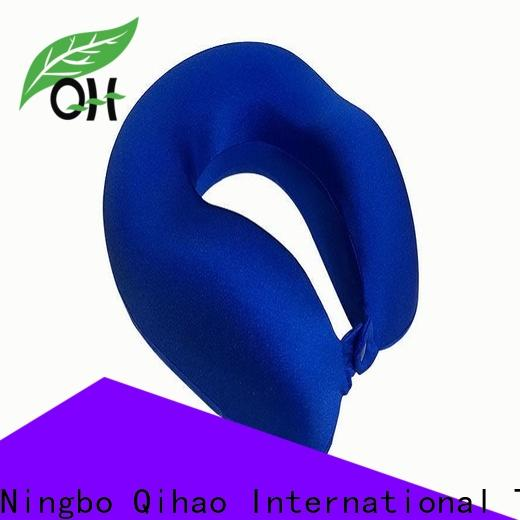 Qihao Best memory foam travel pillow manufacturers for office