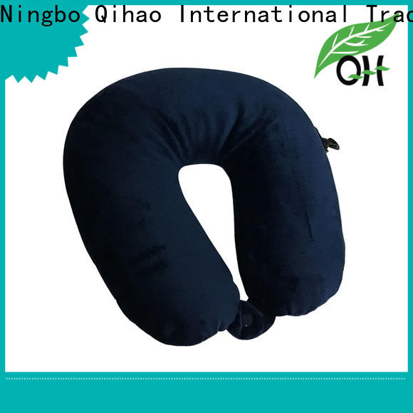 Qihao Custom the best travel pillow manufacturers for sleeping