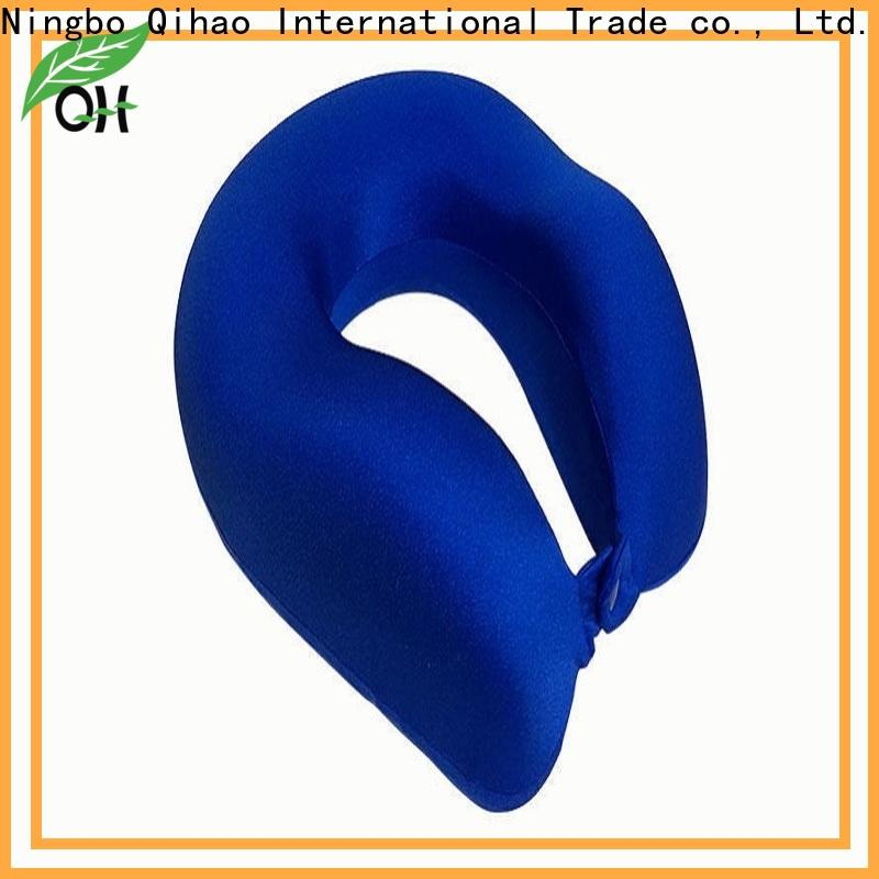 Qihao luxury memory foam travel pillow supply for business trip