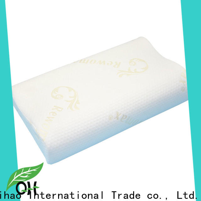 Qihao High-quality bamboo memory foam pillow suppliers for sleeping