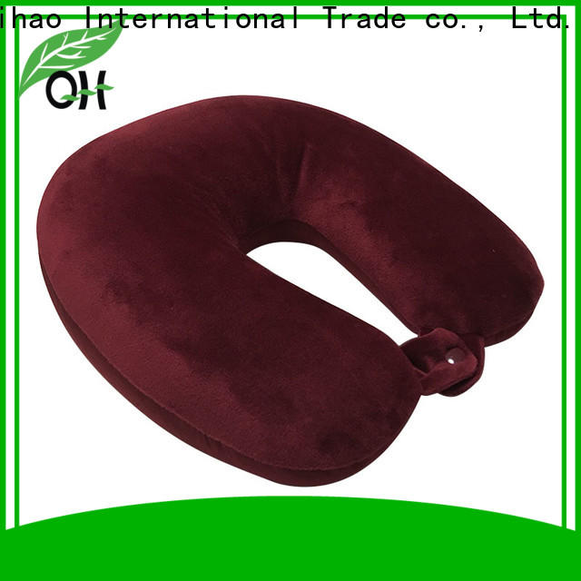 Custom microbead neck pillow neck for business for businessmen