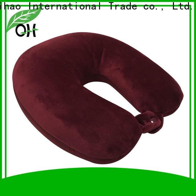 Custom microbead neck pillow neck for business for businessmen