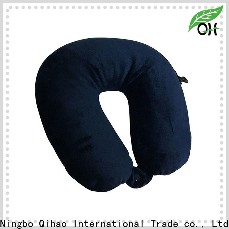 Custom best neck support travel pillow fabric company for travel