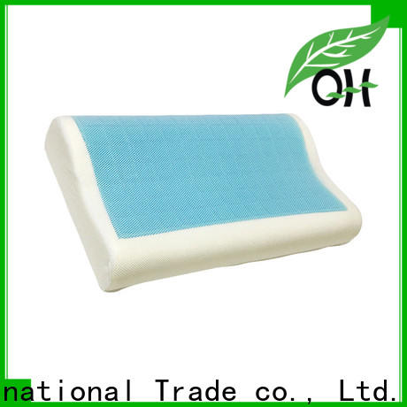 Qihao large gel pillow supply for business trip