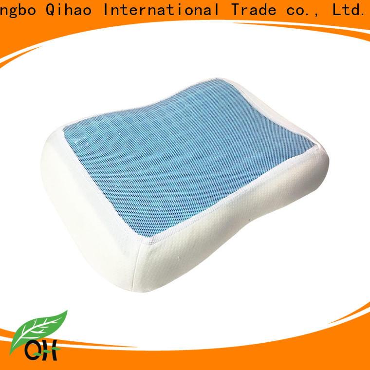 Qihao mesh contour pillow factory for office