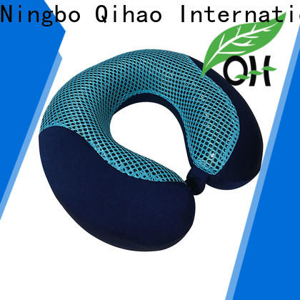 Qihao cover cooling travel neck pillow for business for office