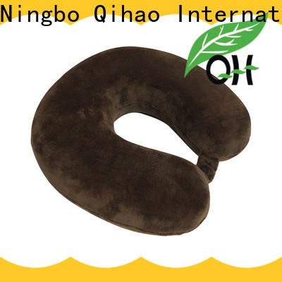 Qihao luxury travel neck pillow factory for business trip