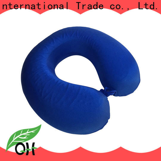 Qihao pillow memory foam pillow factory for travel