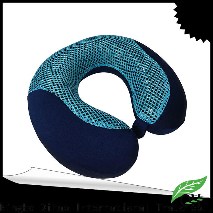 Qihao pillow memory foam pillow with cooling gel for business for office