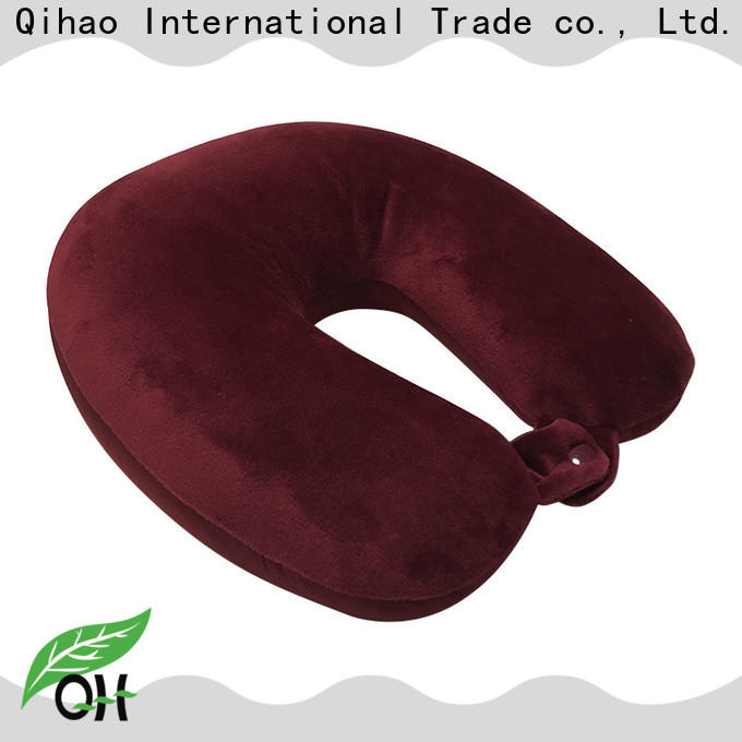 High-quality best memory foam travel pillow pearl manufacturers for travel