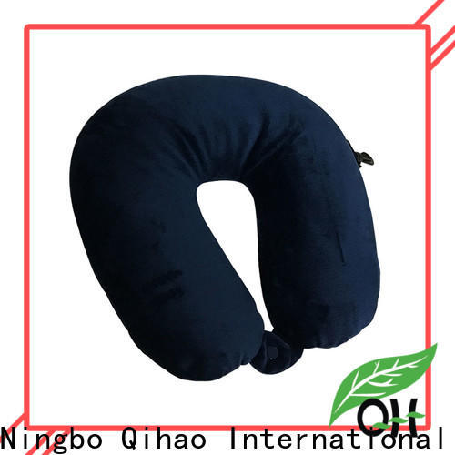 Qihao Best best travel pillow for planes for business for sleeping