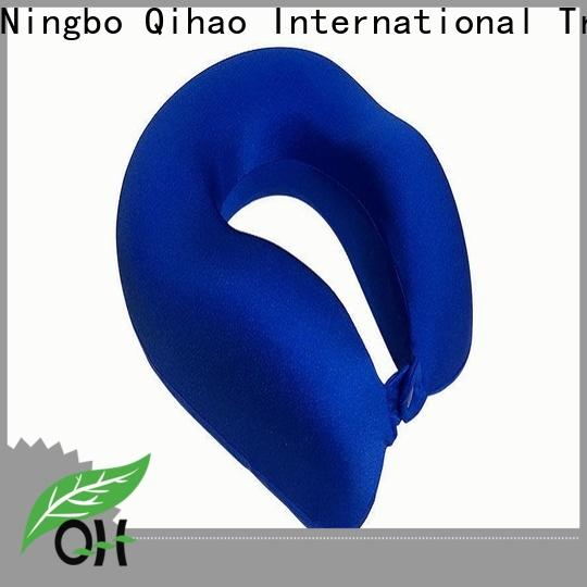 Qihao luxury best neck pillow for flying for business for business trip