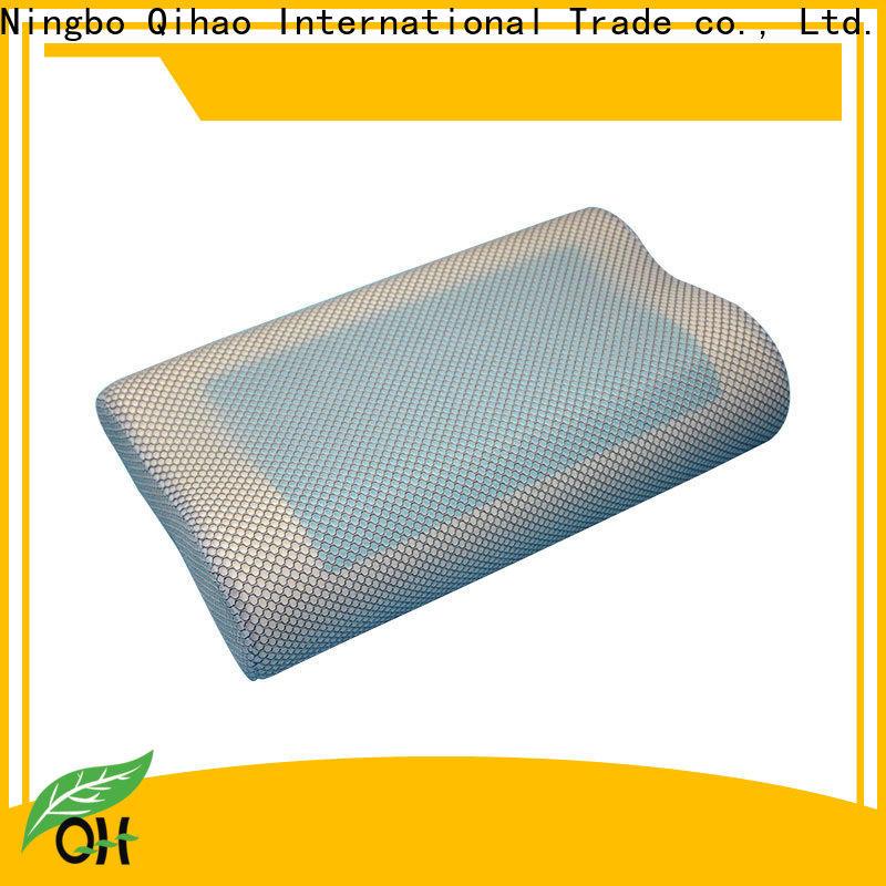 Qihao Custom best gel pillow suppliers for travel
