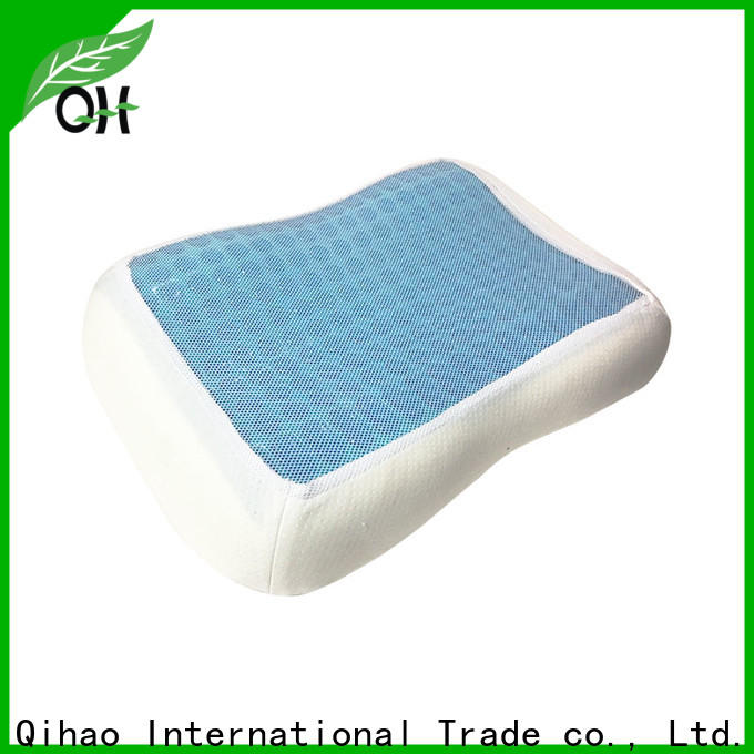 Top contour gel pillow silicone suppliers for travel