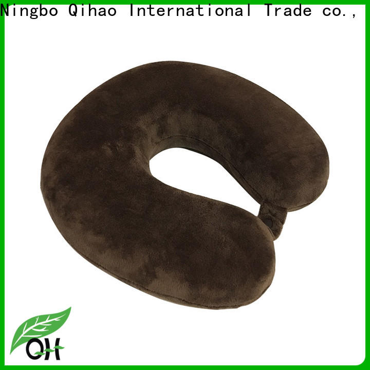 Qihao Top travel pillows for airplanes factory for office