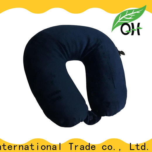 Qihao Top best memory foam travel pillow manufacturers for a rest