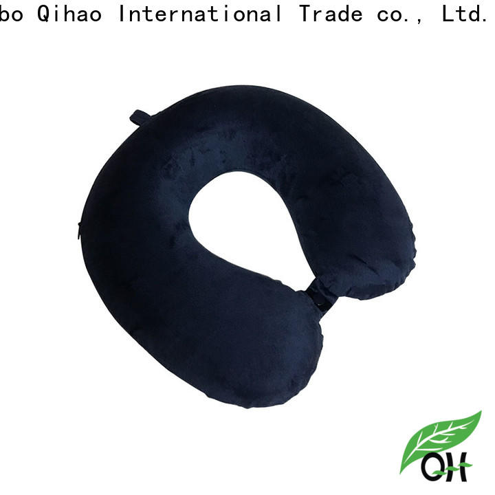 Qihao High-quality neck support travel pillow manufacturers for travel