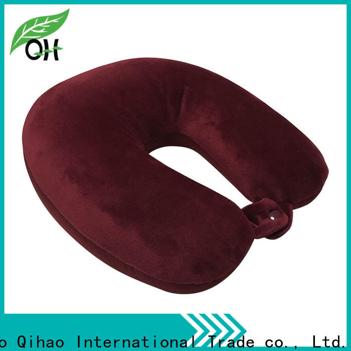 Qihao hook best travel pillow for airplane suppliers for travel