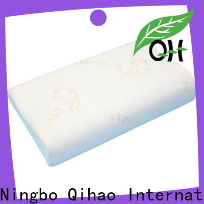 Qihao mf503010 bamboo memory foam pillow company for businessmen