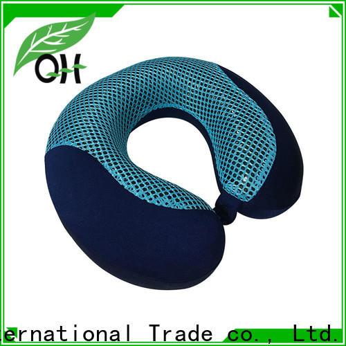 Custom cooling memory foam pillow foam supply for business trip