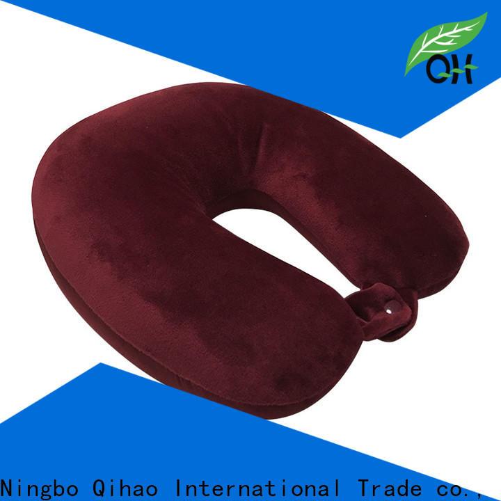Qihao Wholesale best memory foam travel pillow supply for businessmen
