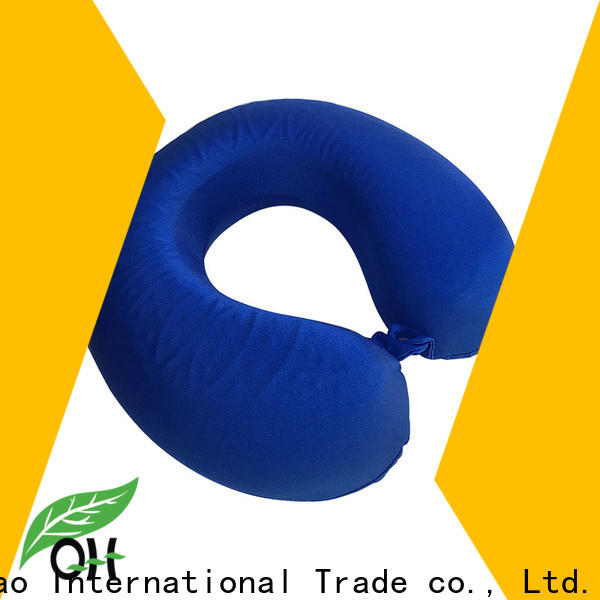Qihao cool memory foam pillow suppliers for business trip
