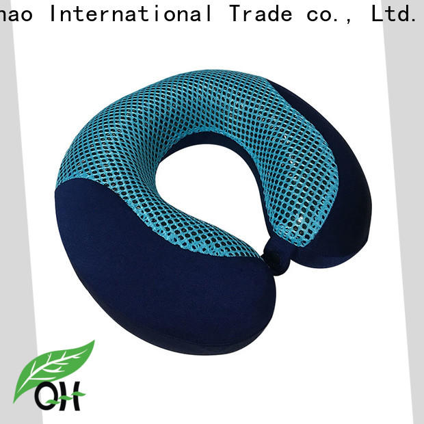 Qihao mesh cooling gel travel pillow supply for office
