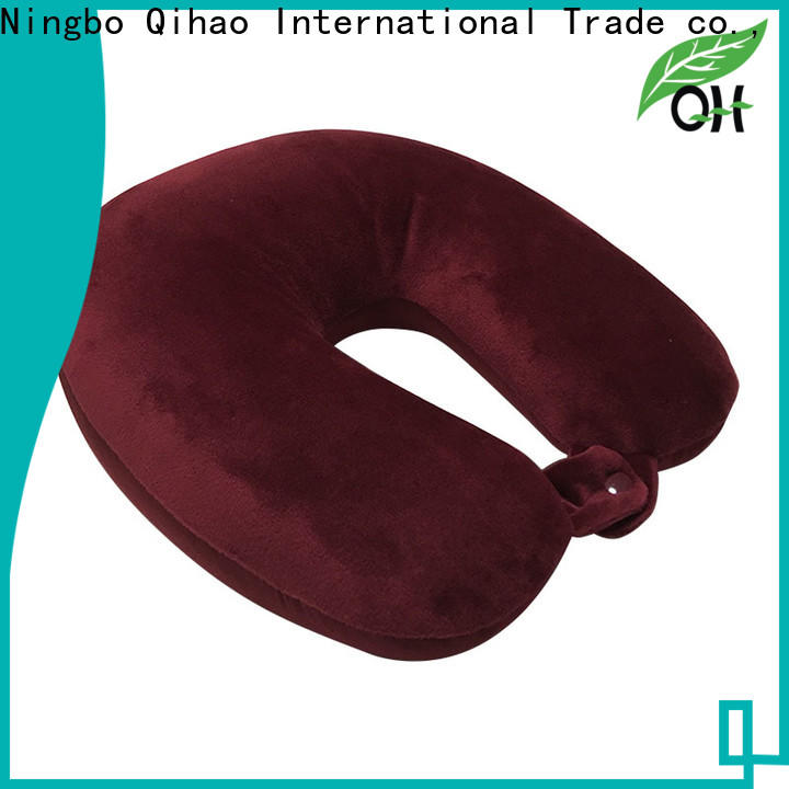 Qihao dual best neck support travel pillow factory for student