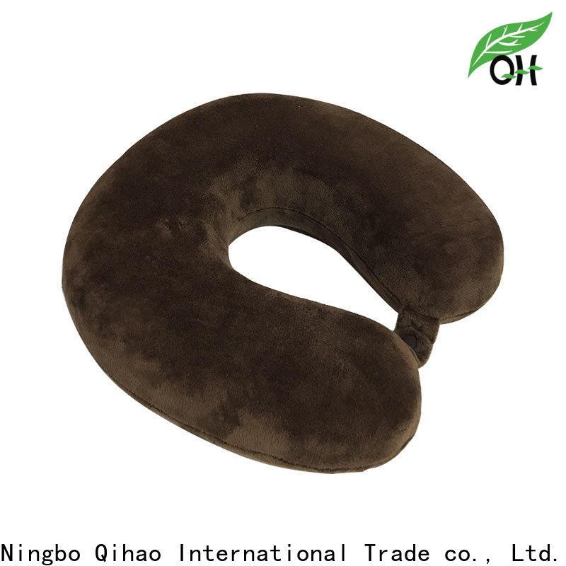 Qihao Custom memory foam neck pillow travel company for a rest