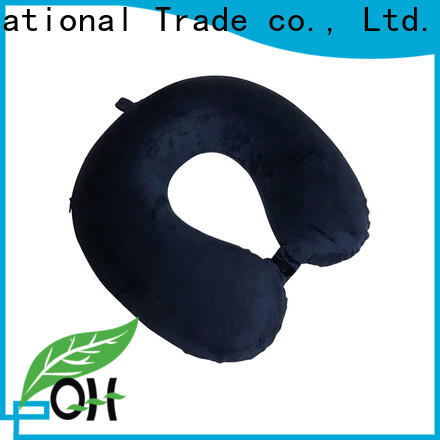 Custom contour neck pillow snap company for office