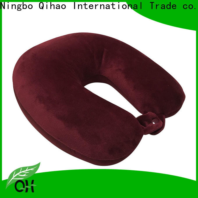High-quality microbead travel pillow neck factory for sleeping