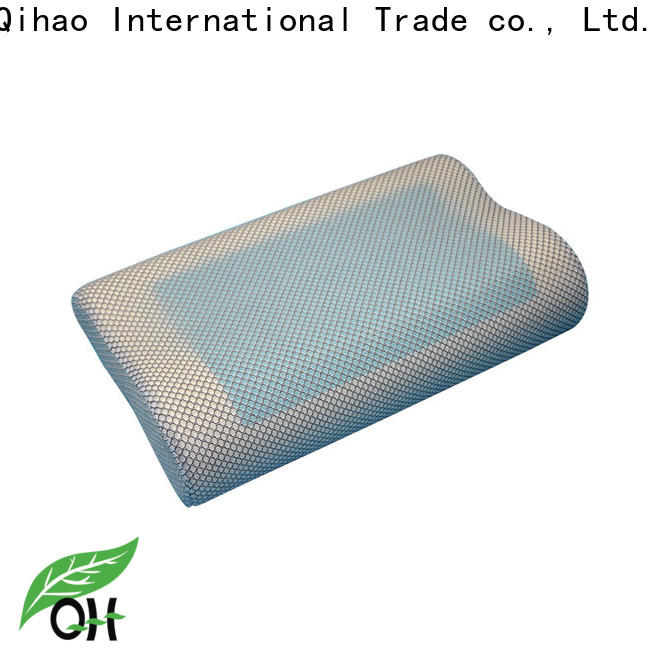 Custom best gel pillow contour for business for a rest