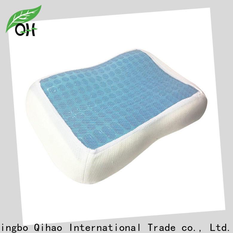 Qihao layer gel contour pillow manufacturers for travel