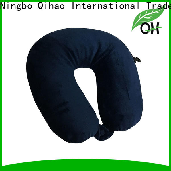 Custom best airplane neck pillow hook for business for a rest