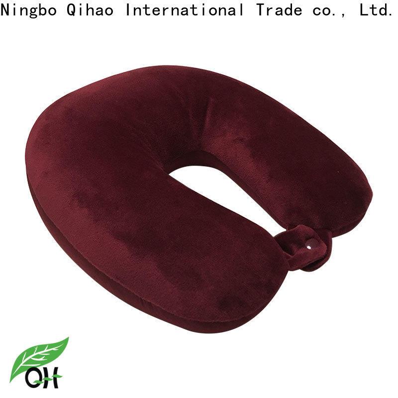 Qihao Custom go travel memory foam pillow for business for student