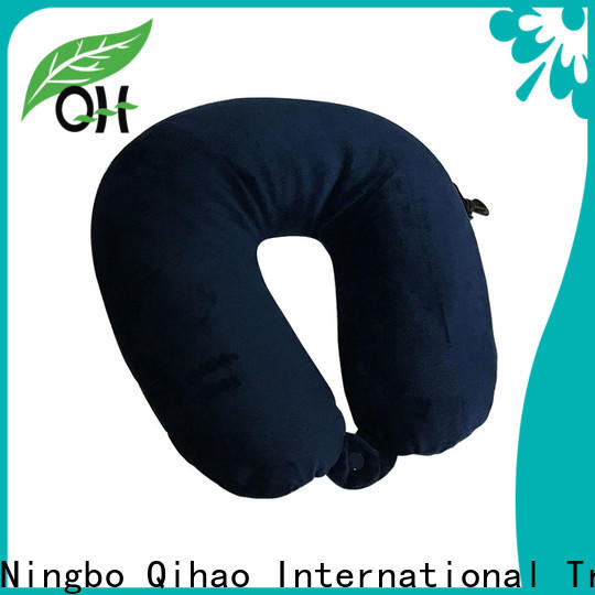 Qihao micro best travel pillow for planes suppliers for a rest