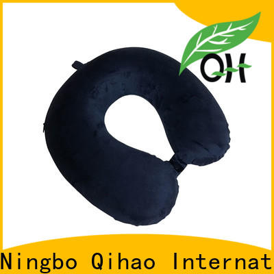 Qihao Latest memory foam travel neck pillow factory for office