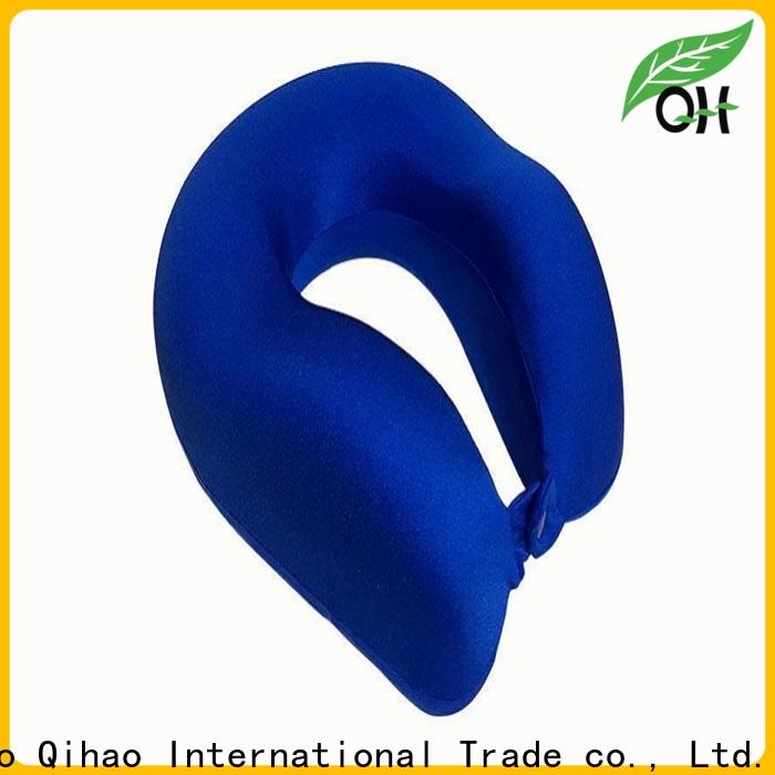 Qihao New best airplane neck pillow manufacturers for office