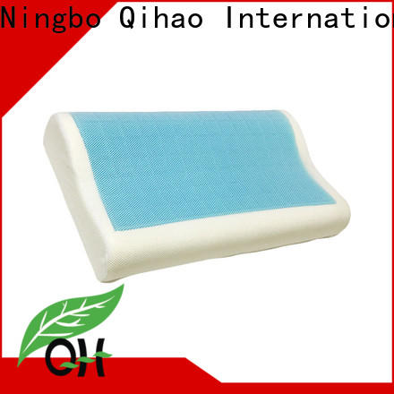 Custom gel pillow large manufacturers for travel