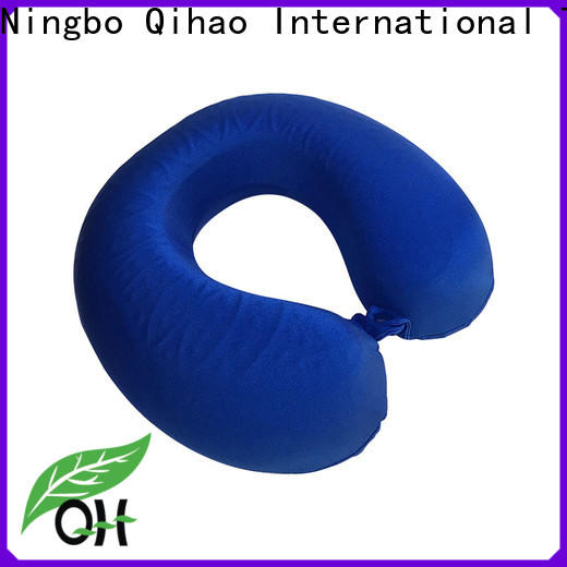 Qihao touch neck pillow with cooling gel factory for a rest