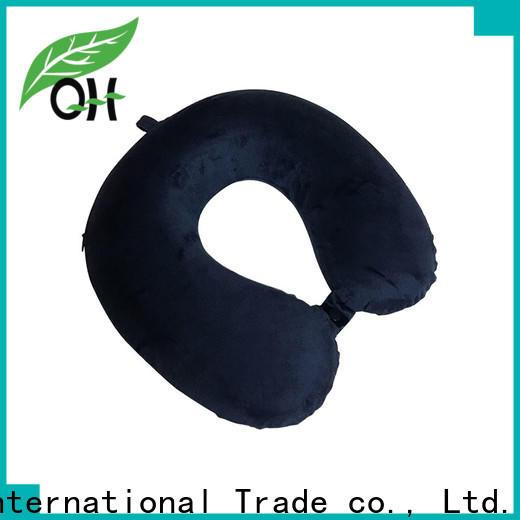 Qihao Custom contour neck pillow supply for travel