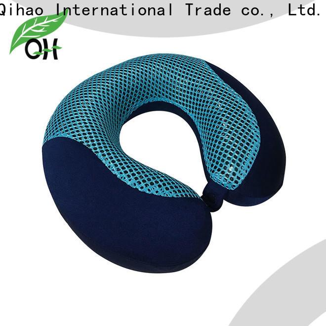 Top gel neck pillow velvet for business for sleeping