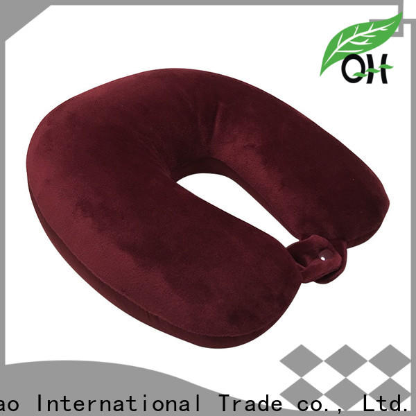 Wholesale best airplane neck pillow color supply for businessmen