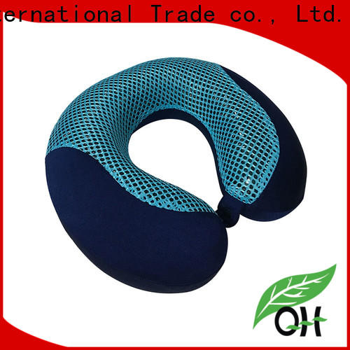 Qihao bamboo gel infused memory foam pillow manufacturers for travel