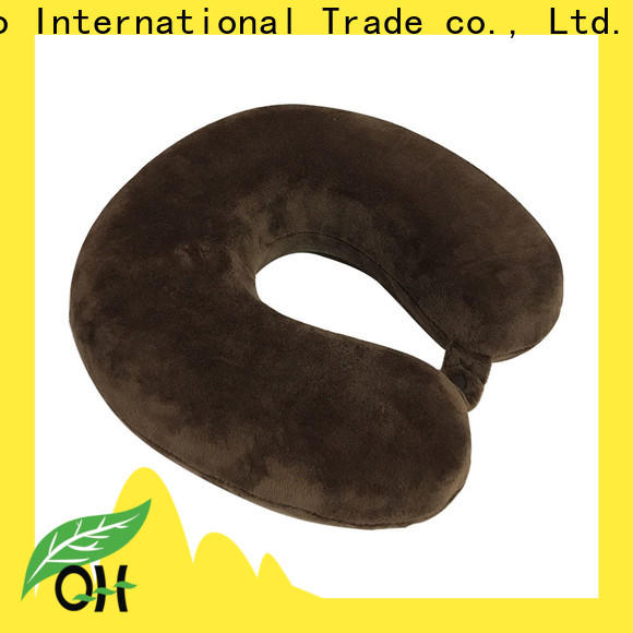 Qihao memory travel neck pillow manufacturers for office