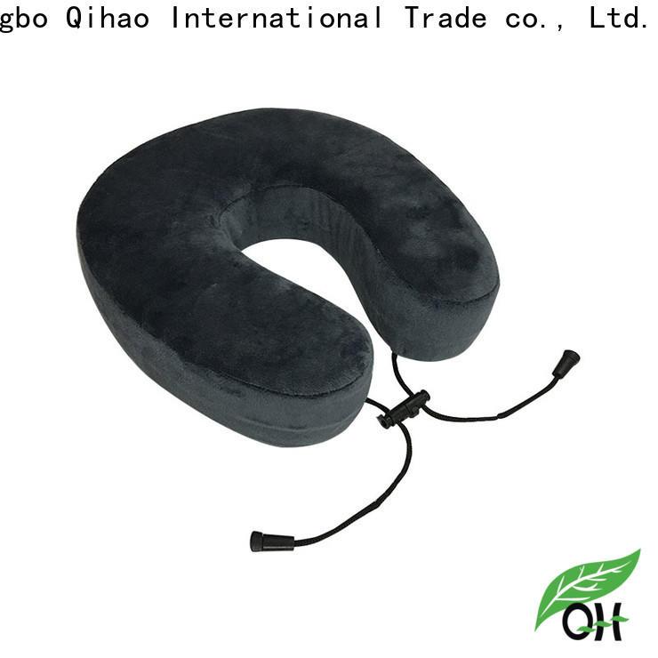 Qihao velvet u shaped neck pillow company for office