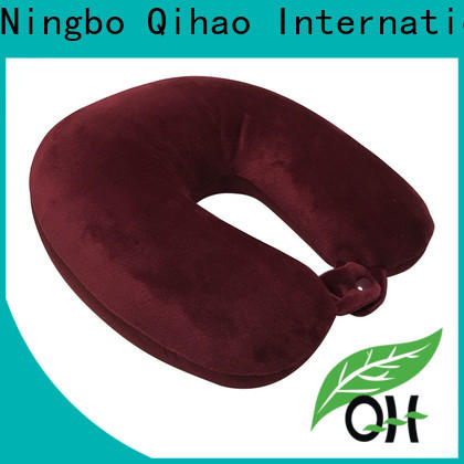 Qihao New u shaped travel pillow supply for businessmen