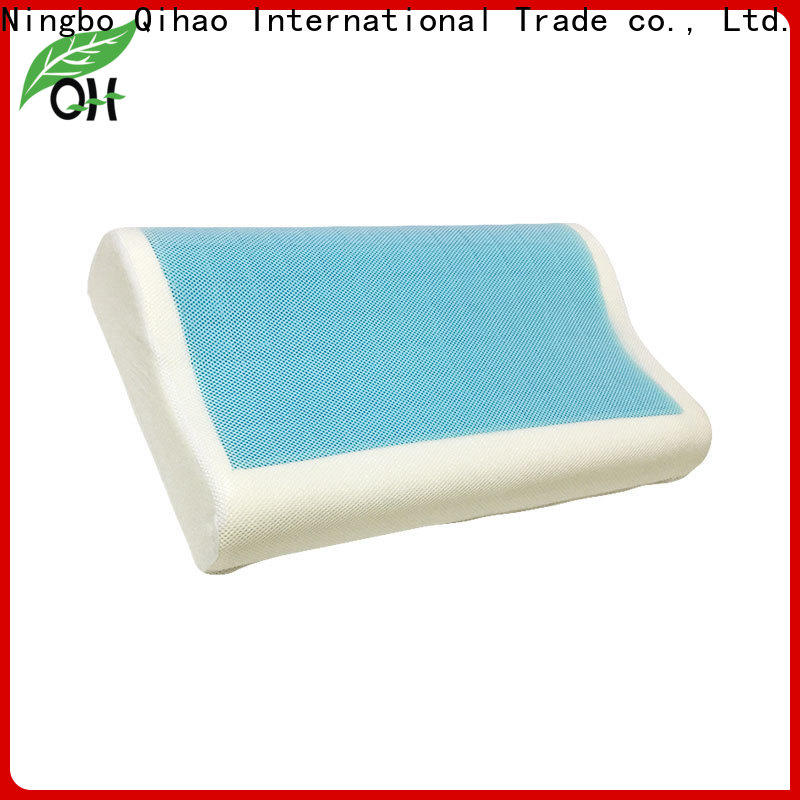 Qihao touch gel contour pillow manufacturers for business trip